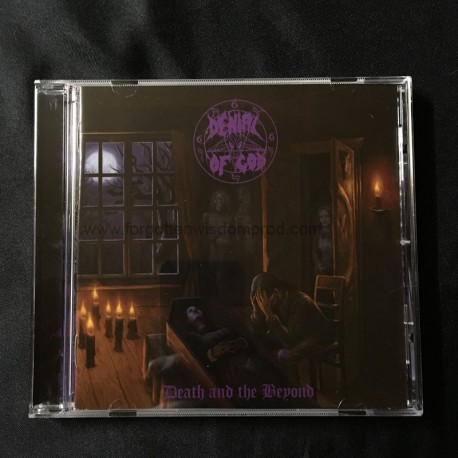"""DENIAL OF GOD """"Death and the Beyond"""" CD"""