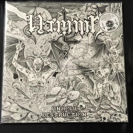 """HAMMR """"Unholy Destruction"""" 12""""LP"""