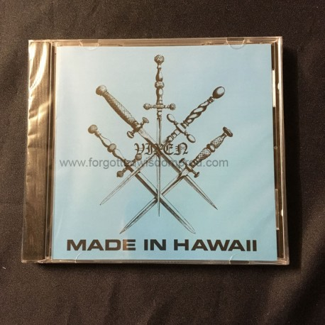 "VIXEN ""Made in Hawaï"" CD"