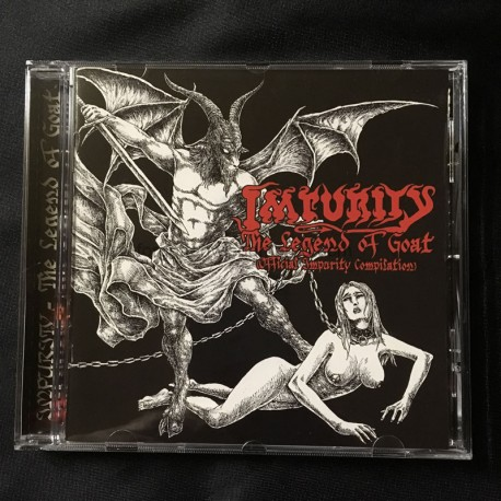 "IMPURITY ""The Legend of Goat"" CD"