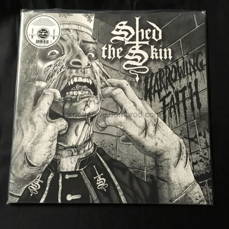 """SHED THE SKIN """"Harrowing Faith"""" 12""""LP"""