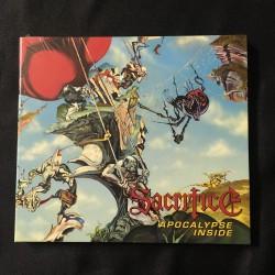 "SACRIFICE ""Apocalypse Inside"" Digipack CD"