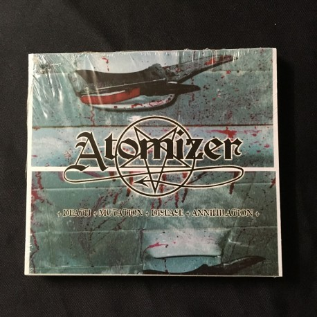 "ATOMIZER ""Death Mutation Disease Annihilation"" slipcase CD"