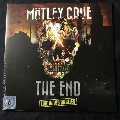 """MOTLEY CRUE """"The End"""" 2x12""""LP+DVD"""