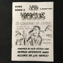 ACID VICIOUS Zine hors série 2