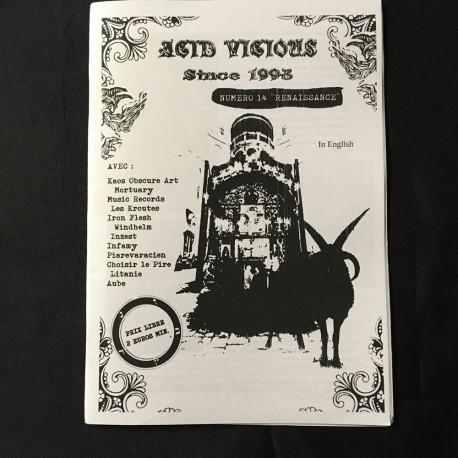 ACID VICIOUS Zine 14