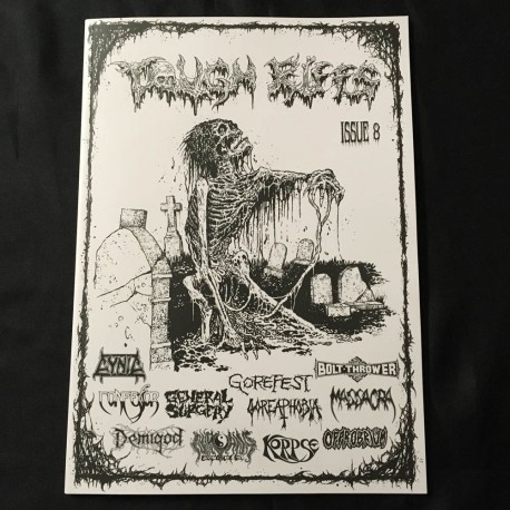 TOUGH RIFFS Zine 8