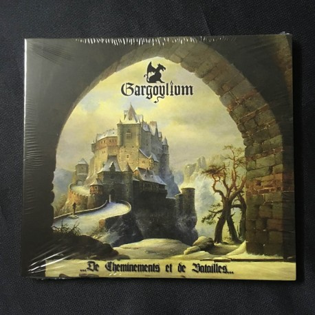 "GARGOYLIUM ""De Cheminements et de Batailles"" Digipack CD"