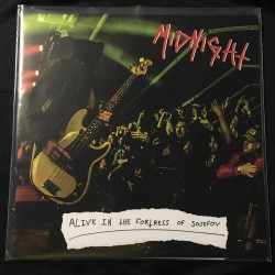 """MIDNIGHT """"Alive in the Fortress of Josefov"""" 12""""LP"""