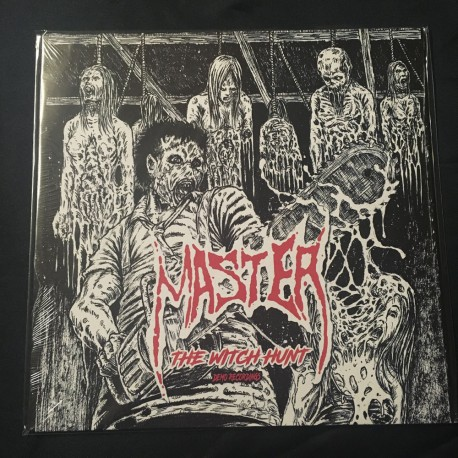 "MASTER ""The Witch Hunt (demo recordings)"" 12""LP"