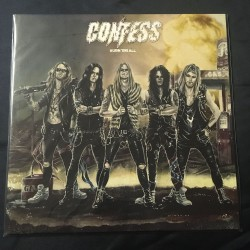 "CONFESS ""Burn""Em All"" 12""LP"