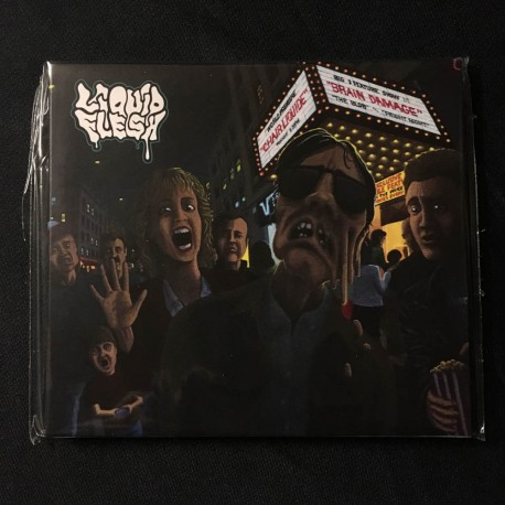 "LIQUID FLESH ""Chair liquide"" Digipack CD"