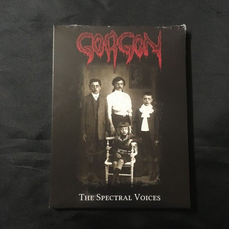 """GORGON """"The spectral Voices"""" A5 Digipack CD"""