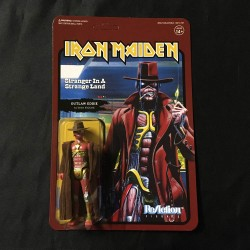 IRON MAIDEN Outlaw Eddie retro figure