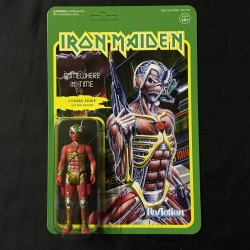 IRON MAIDEN Cyborg Eddie retro figure