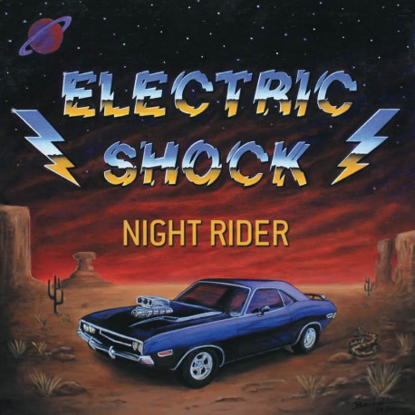 "ELECTRIC SHOCK ""Night Rider"" 12""EP"