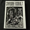 """CANADIAN ASSAULT """"The 9 cannons of our battle"""" book"""