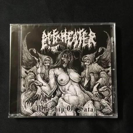 """BITCHEATER """"Worship of Satan"""" CD"""