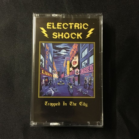 """ELECTRIC SHOCK """"Trapped in the City"""" Pro Tape"""