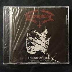 "ENTRAPMENT ""Irreligious Infestation-(Demo Sessions 2010-2014)"" CD"