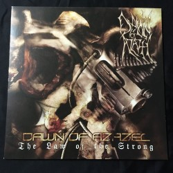 """DAWN OF AZAZEL """"The Law of the Strong"""" 12""""LP"""