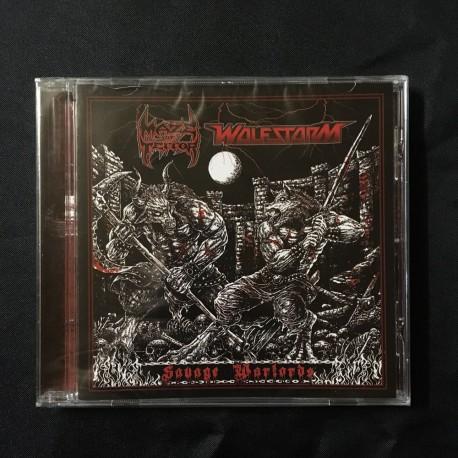 MAZE OF TERROR/WOLFSTORM split CD