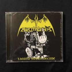 "ARMOUR ""Liquid Metal Decade"" CD"