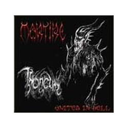 "MARTIRE/THRONEUM ""United in Hell"" split CD"