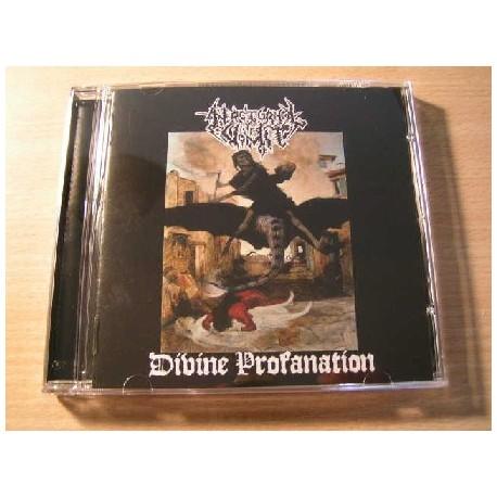 """NOCTURNAL VOMIT (Greece) """"Divine Profanation"""" CD"""