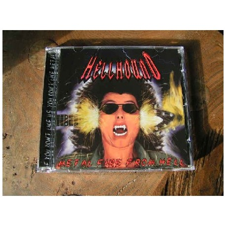 "HELLHOUND (Japan) ""Metal Fire From Hell"" CD"