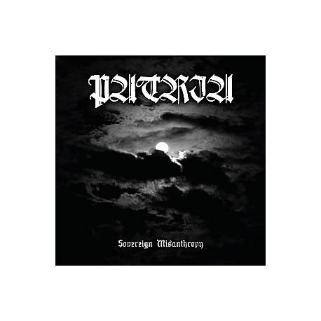 "PATRIA ""Sovereign Misanthropy"" CD"